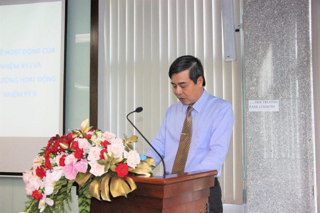 Ông Trần Thanh Hải – Thành viên HĐQT, TGĐ Sonadezi phát biểu tại buổi họp