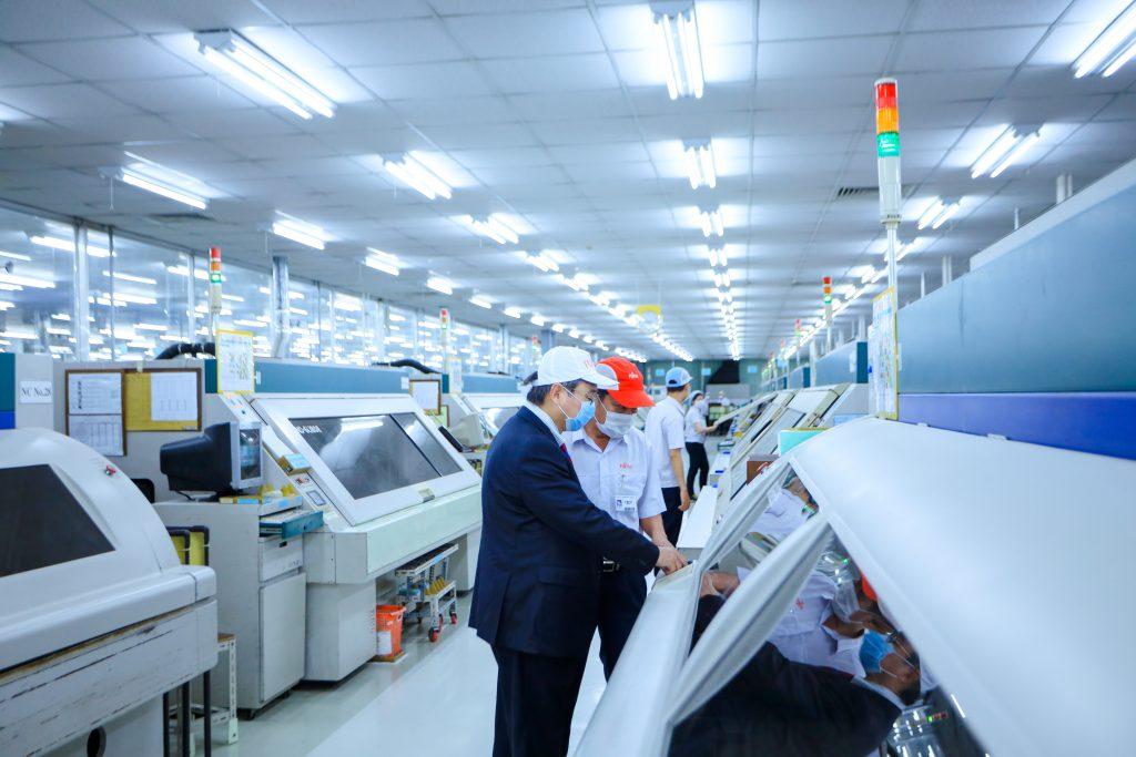 Nhà máy của Công ty Fujitsu Việt Nam tại KCN Biên Hòa 2